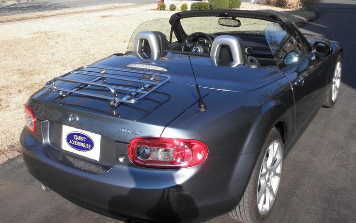 The Monte Carlo Luggage Carrier for the Mazda Miata MX5 PRHT