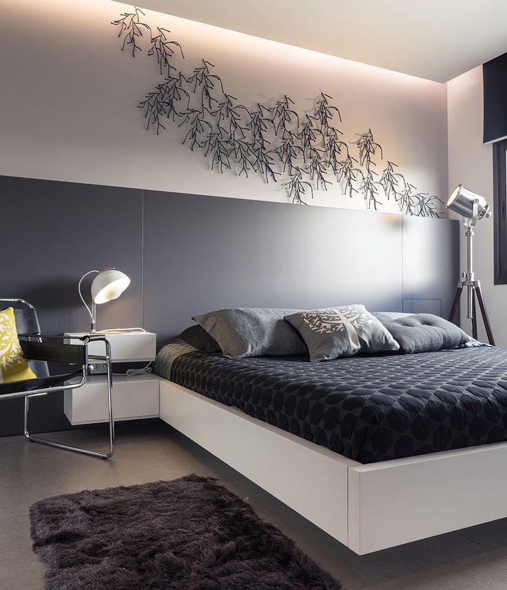 Decoração descolada. Veja: http://www.casadevalentina.com.br/projetos/detalhes/clima-descolado-em-85m--557 #details #interior #design #decoracao #detalhes #decor #home #casa #design #idea #ideia #charm #modern #moderno #charme #casadevalentina #bedroom #quarto #dormitorio