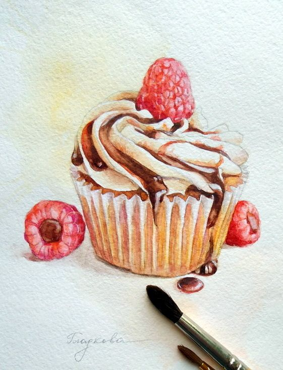 Cupcakes | Food Illustration