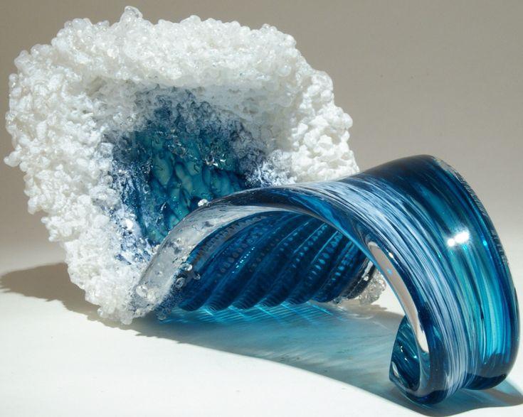 Art Glass sculpture from Kela's...a glass gallery on Kauaii