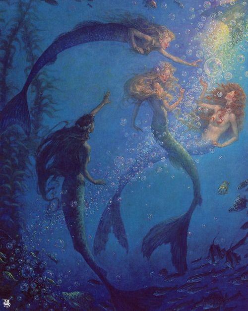 The Mermaids Lagoon: Scott Gustafson