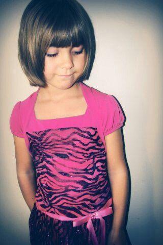 Little Girl Bob Haircuts With Bangs
