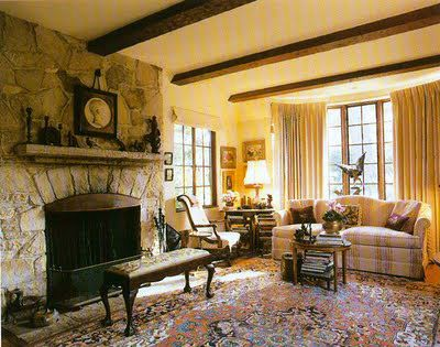 Hasenyger House ~ French Tudor Cottage by M.J. Murphy