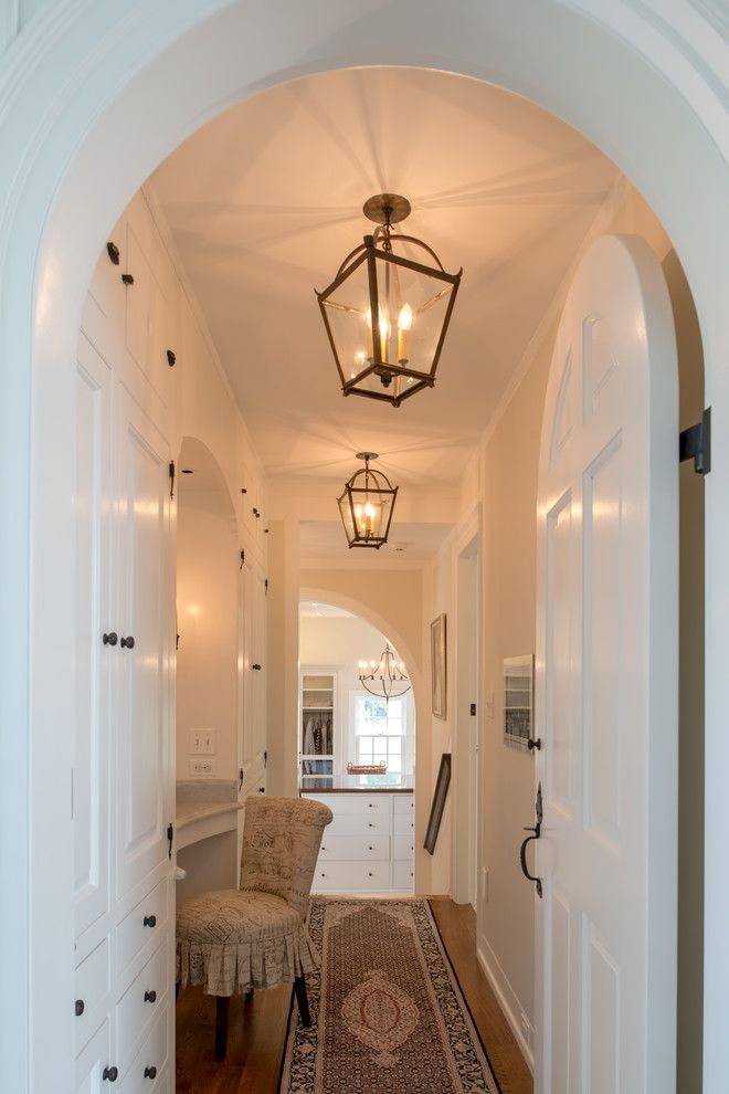 Hallway Lighting Fixtures Hall Traditional With Addition Arched Door  Archways