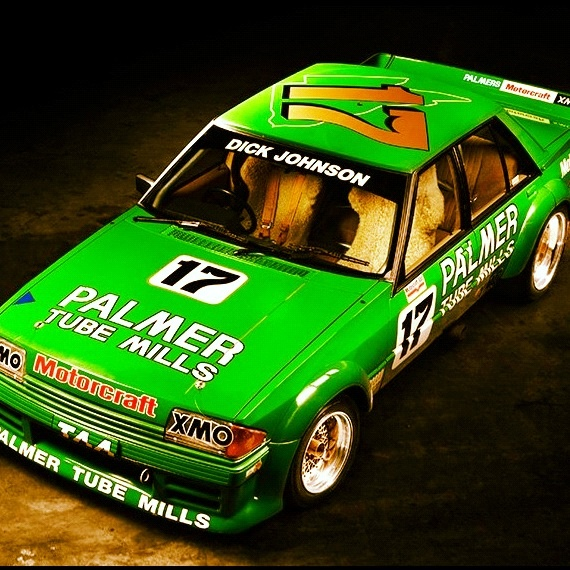Dick Johnson Greens Tuf Ford Falcon