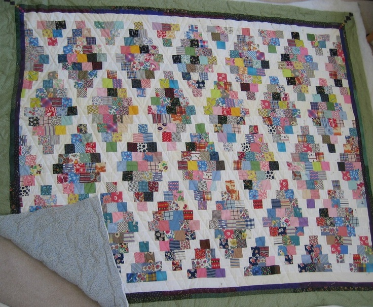 Coloradolady: Postage Stamp Quilt 2012 Charm Swap & Challenge - awesome postage stamp pattern!