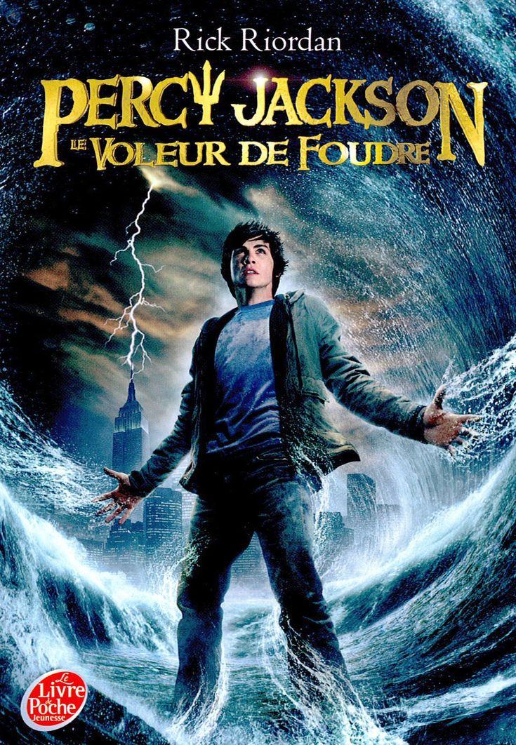 Percy Jackson, Tome 1 : Le voleur de foudre - Rick Riordan - Livre // Inspirer  des mythes de la Grèce et des Dieux de L'Olympes.