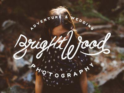 BrightWood Script Logo