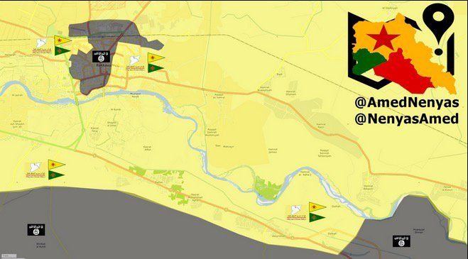 #Media #Oligarchs #MegaBanks vs #Union #Occupy #BLM #SDF #Humanity  Military situation map and SDF/#YPG advance against ISIS in #Raqqa. #twitterkurds #YPG #SDF #Twitterkurds #Syria #Raqqah #Rojava #PYD  https://twitter.com/curdistani/status/888129884467470336