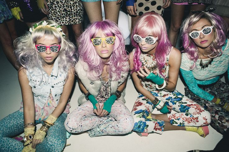 Wigging out Bachelorette Party!  I guess we need some sweet shades too!  @Kassie Ross  @Morgan Polk  @Ashley Robertson Day