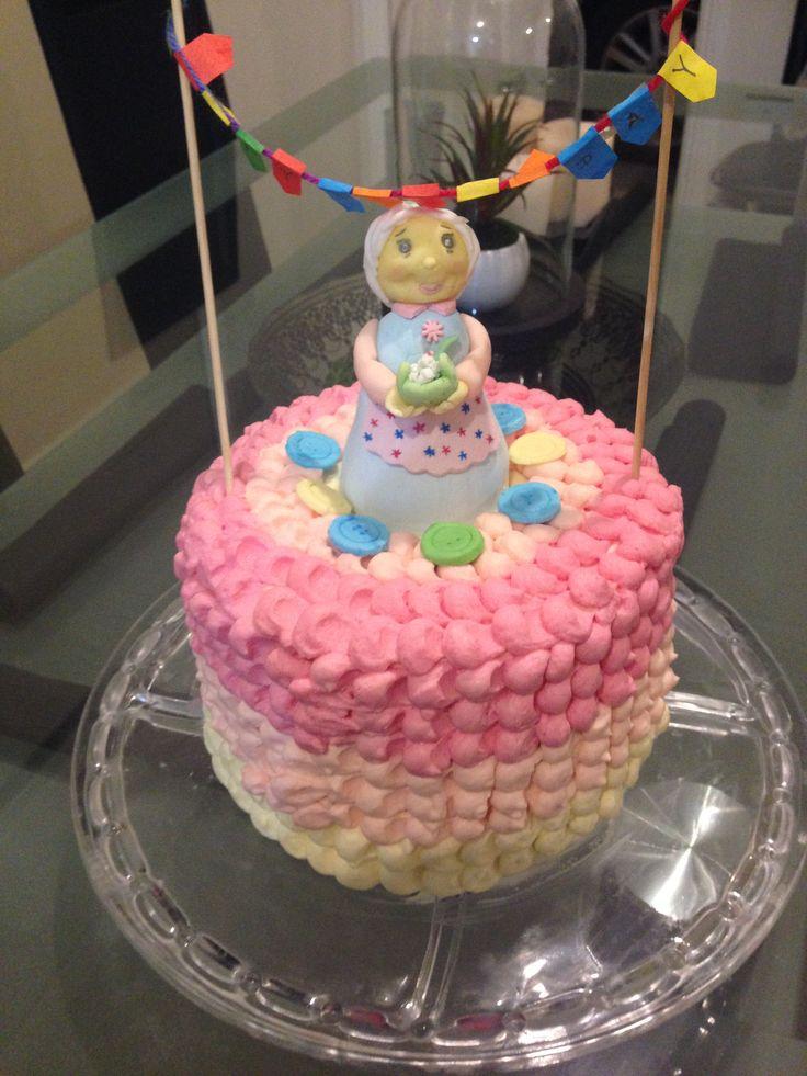 Sweet cake for my beloved Gräñdmä
