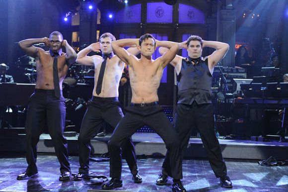 Joseph Gordon-Levitt Shirtless on SNL