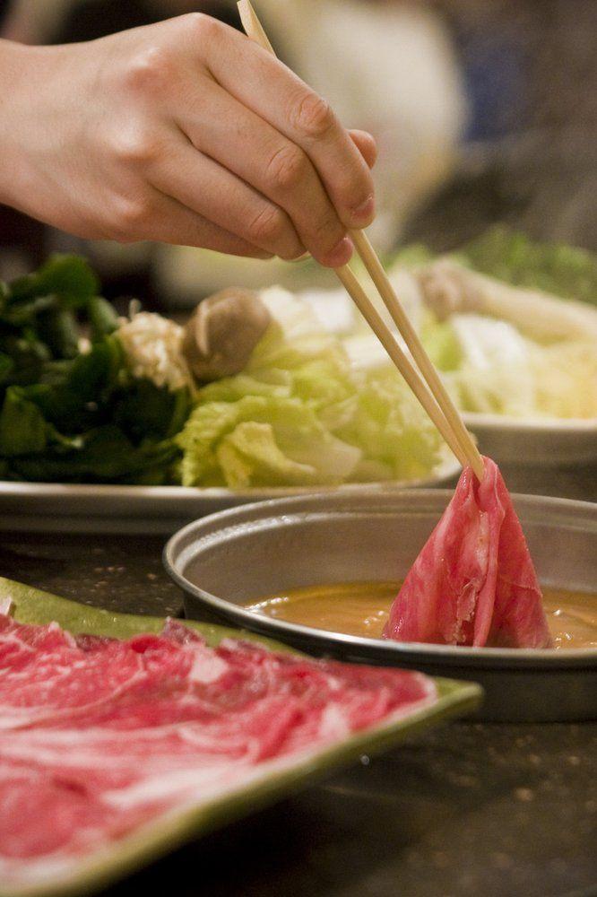 Shabu House, Burlingame. Japanese hot pot.