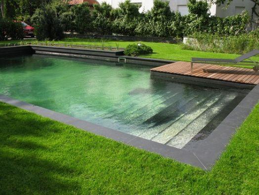 Staw kąpielowy. - Garden Serwis