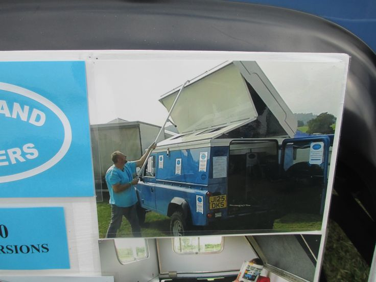 A Neat Folding Roof On A Landrover 4x4 Camper By Http