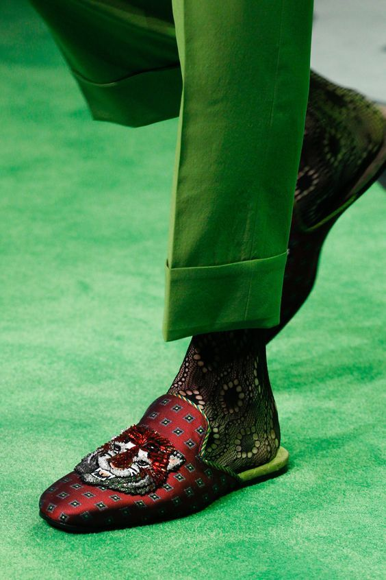 gucci 2017 shoes. 8 essential clothing pieces you should get for every year - gucci ss 2017 fashion show detail the best of shoes trends in .