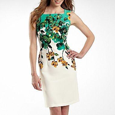 Alyx Floral Print Sheath Dress