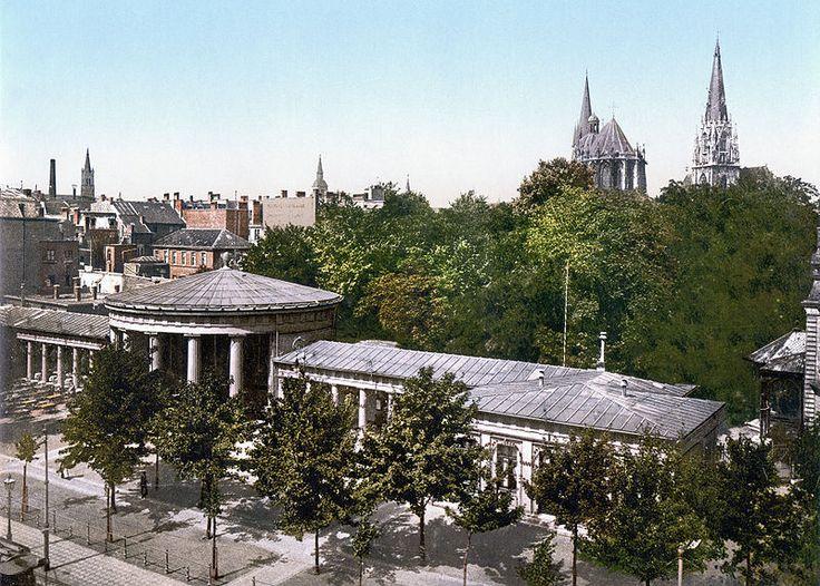 Elise's Fountain, Aachen, the Rhine, Germany, around 1900.