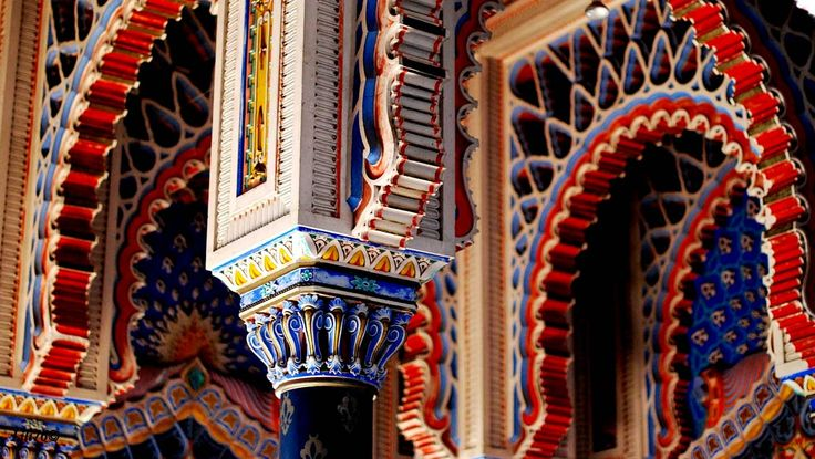 Castello di Sammezzano, Tuscany - Top 10 weird places to visit in Italy -
