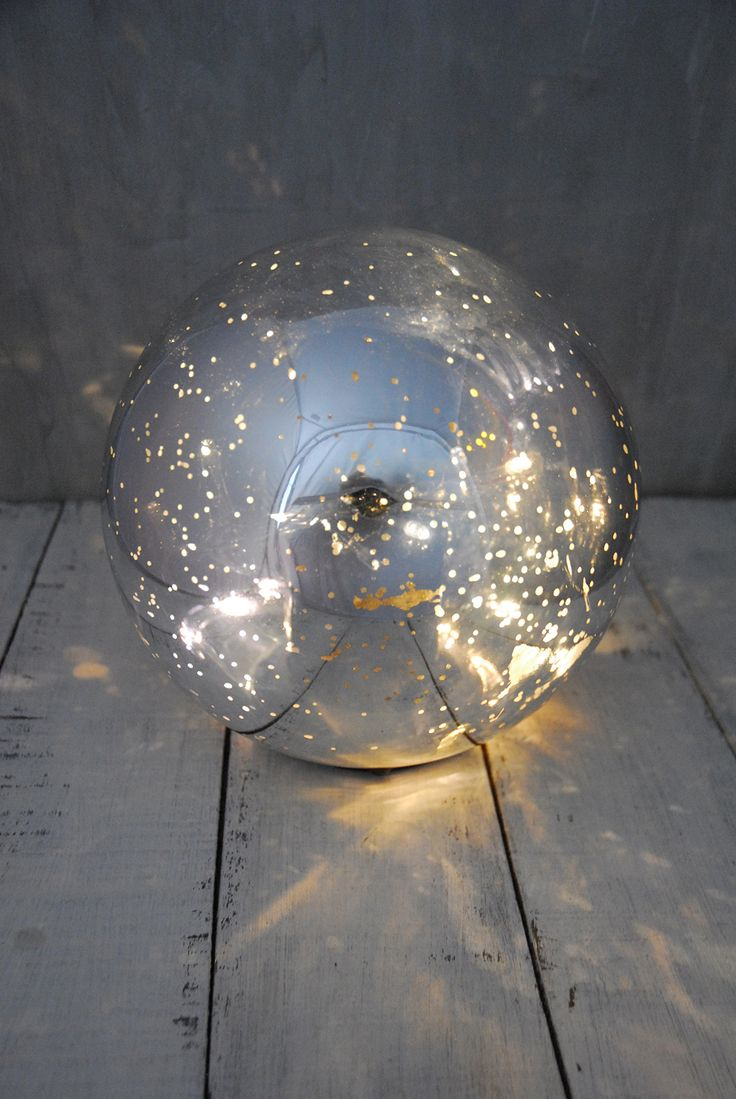 Illuminate Your Evenings With This Glimmering LED Orb Light, Or Use It To  Create A Striking Centerpiece At A Wedding Reception.