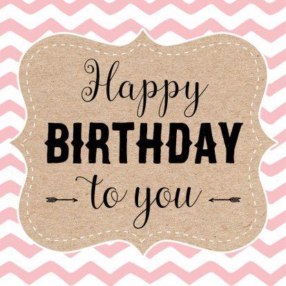 Leuke verjaardagskaart met sierlijk kader en roze patroon. Design: 99treats Te vinden op: www.kaartje2go.nl