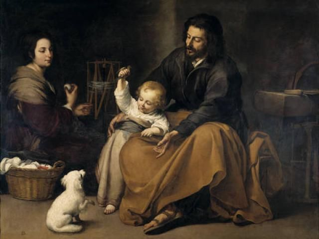 La Sagrada Familia del Pajarito (Murillo)