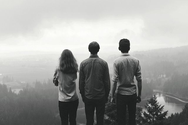 And there we were the three of us. Liam, Reese and I. On the mountain of our youth overlooking what went of forever...