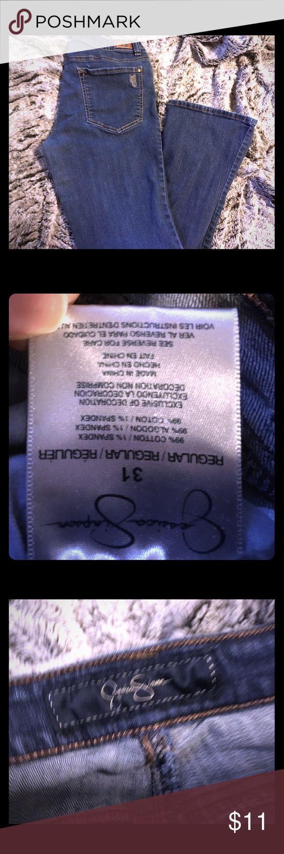 Jessica Simpson palisades Demi flare jeans Size 31 gently loved Jessica Simpson jeans Jessica Simpson Jeans Flare & Wide Leg