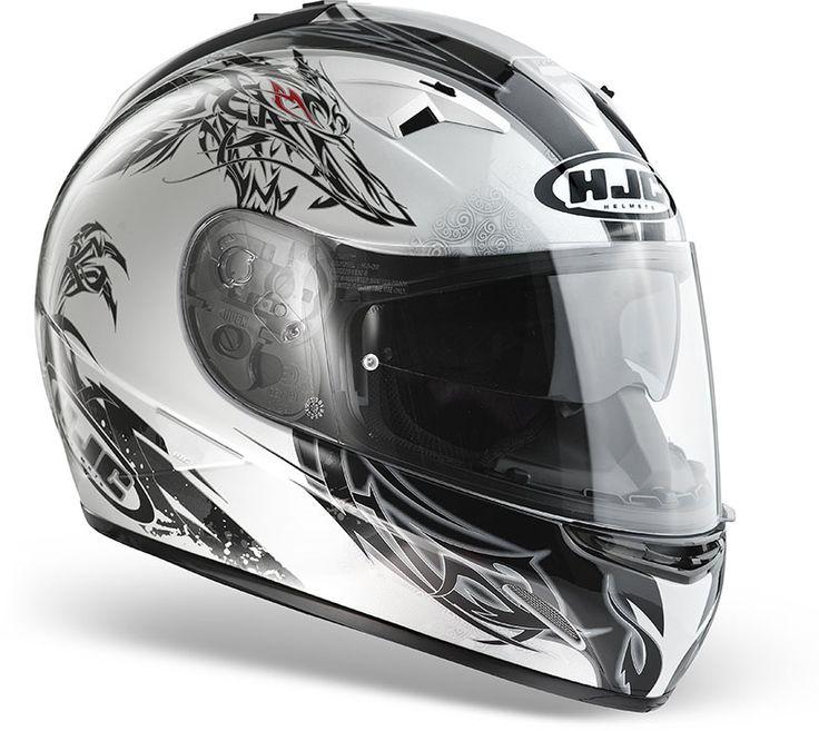 Casco integrale HJC TR1 Wisp MC10 : Abbigliamento Moto, Accessori Moto