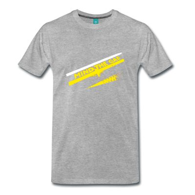 Mind The Gap T-shirt. part of the A-Zone collection
