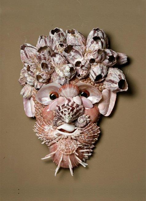 Designer decorateur creeation en coquillage objets de - Bricolage avec coquillage ...