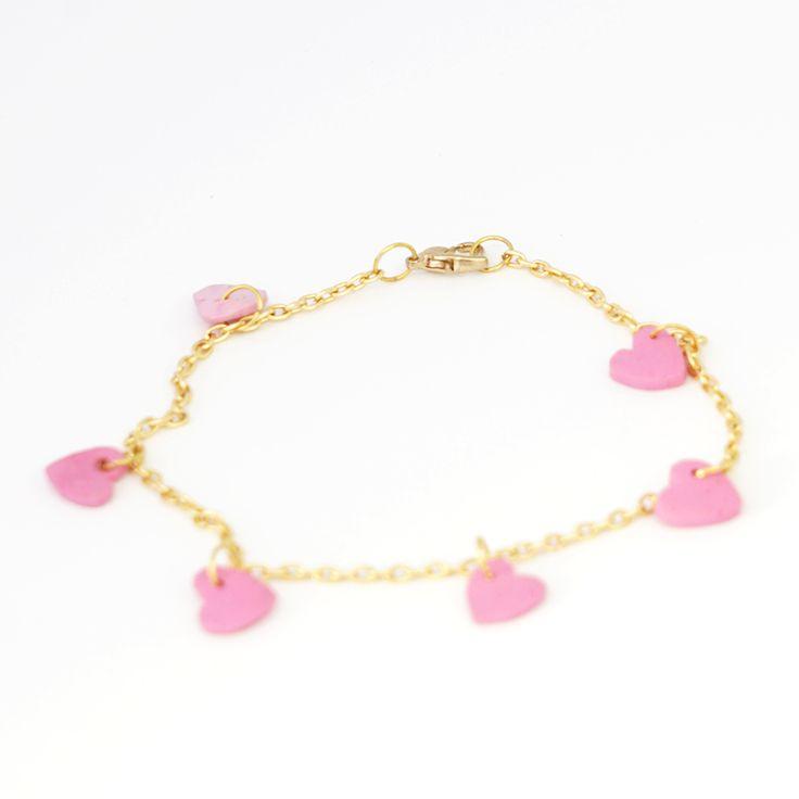 Medium Hearts Bracelet