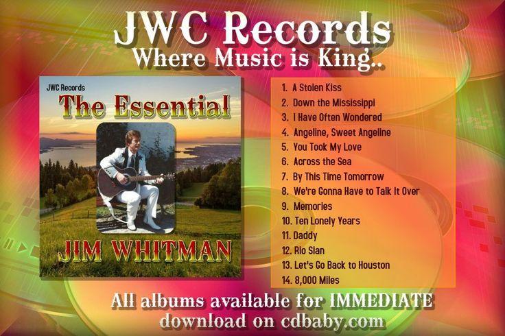 Jim Whitman Information Purchase on CD Baby: http://www.cdbaby.com/Artist/JimWhitman Website: - http://www.jimwhitman.co.uk Fan club: - https://www.facebook.com/groups/jimwhitmanfanclub JWC Records: - https://www.facebook.com/JwcRecords Youtube - http://www.youtube.com/mrjimwhitman