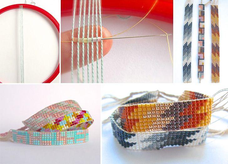 How to Make Beaded Friendship Bracelet - DIY & Crafts - Handimania