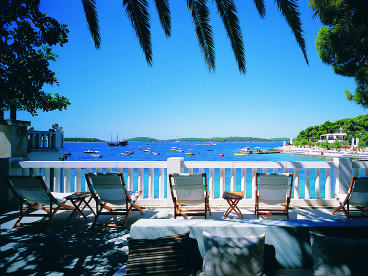 HVAR (DALMATIAN ISLANDS), CROATIA For a quiet spell away from the lively Renaissance port town of Hvar, head south to the tiny pebble beach of Uvala Dubovica. Get there early if driving as parking is limited, or rent a boat and swim ashore. A gorgeous 17th-century manor house anchors one end of the cove, while pine trees for shade sit at the other.