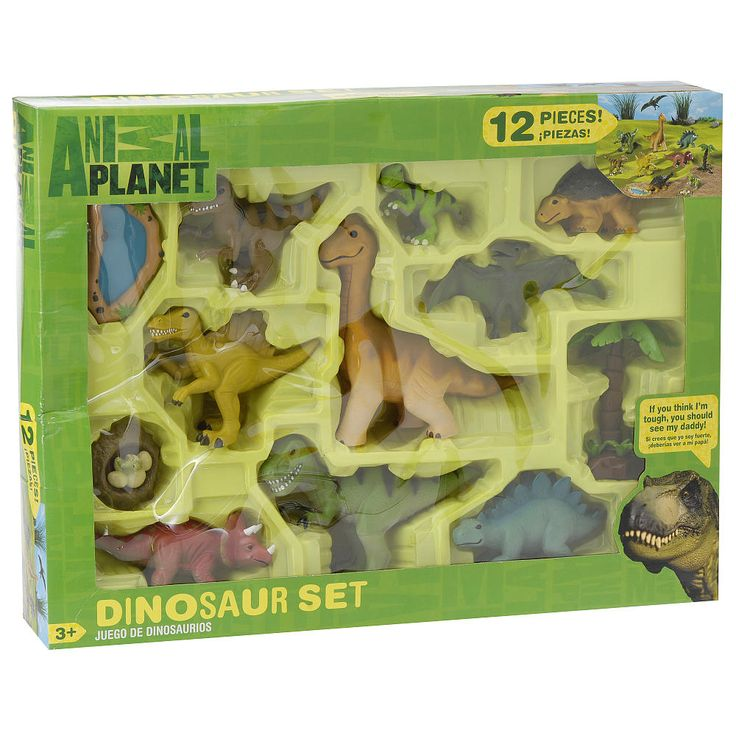 animal planet playset - large baby dinosaurs - toys r us