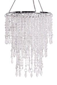 TIERED BEADED CEILING SHADE