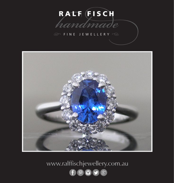 A friendly reminder for those on the hunt for gifts, we do have a range of ready to purchase stock items in store which can be placed on layby. New to stock: 18ct white gold cluster dress ring with a 1.52ct oval Ceylon sapphire in the centre, framed by 0.43ct of round brilliant cut diamonds.  RRP: $3,450 And if you're looking for a special custom made gift for Christmas, book an appointment with us soon