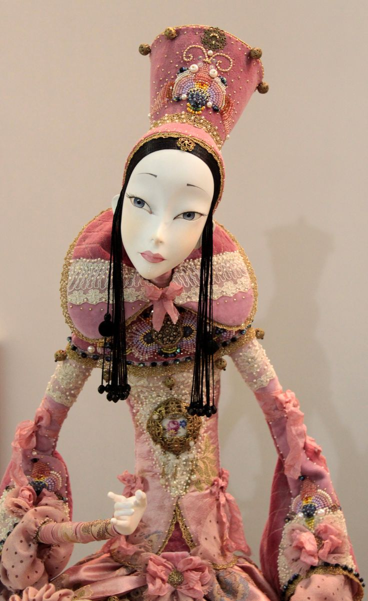 II. International Exhibition of Art Dolls_Doll Prague 2013 (made by Annadan)