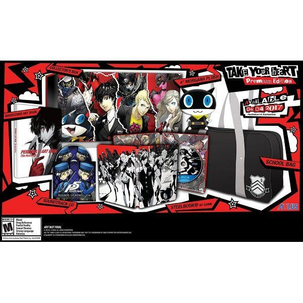 Persona 5 - Take Your Heart Premium Edition [PlayStation 4]