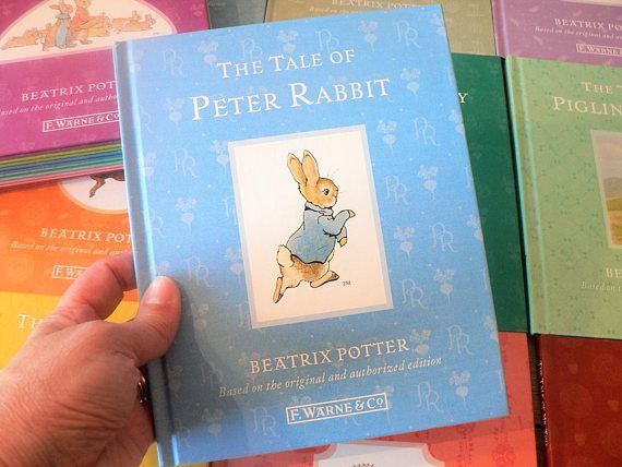Beatrix Potter Peter Rabbit Book Collection / lot of 23