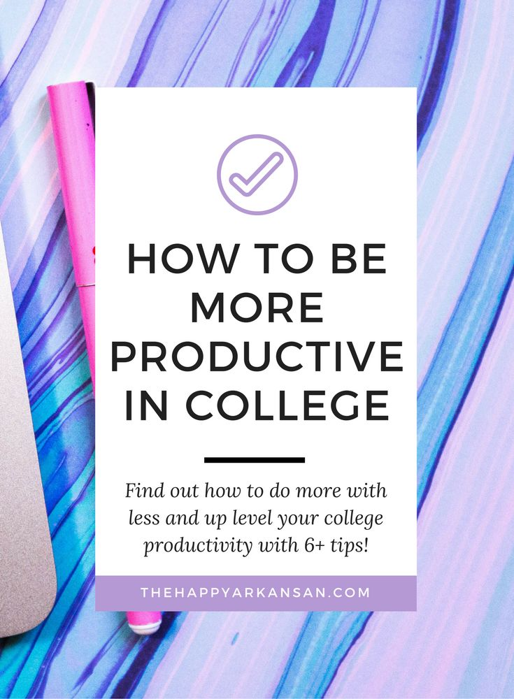 How To Be More Productive In College   Do you want to be more productive? Check…