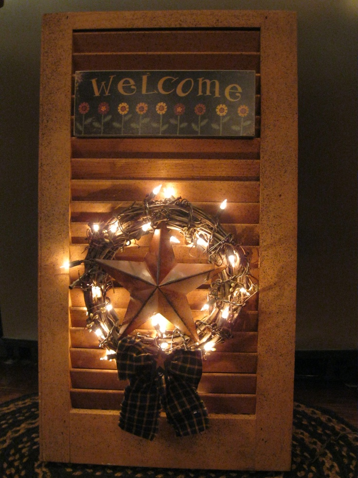 154 Best Shutter Crafts Images On Pinterest Shutter