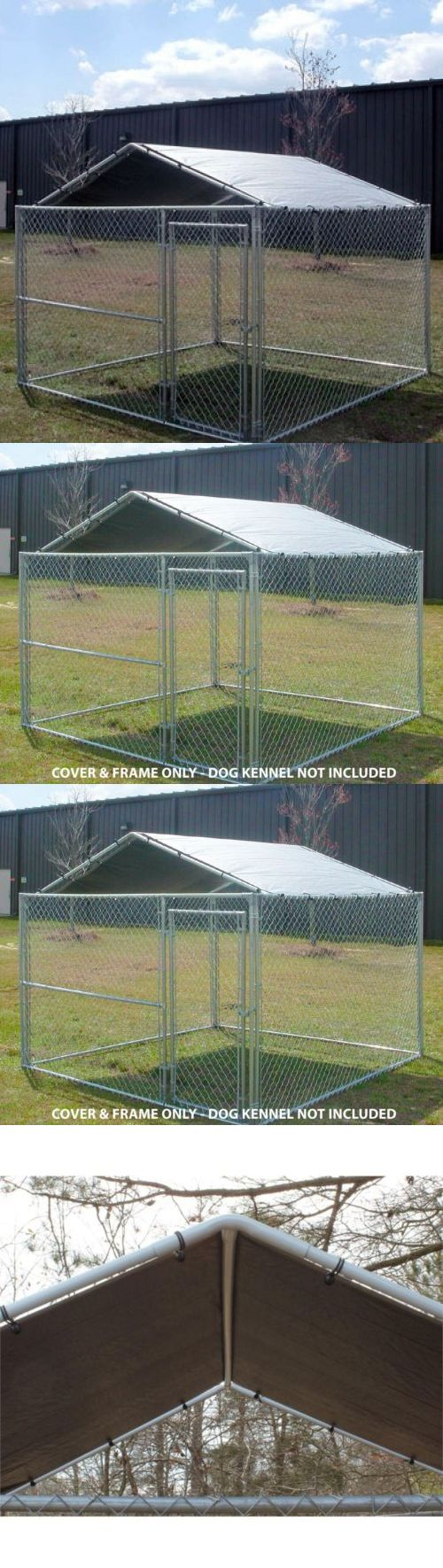 Fences and Exercise Pens 20748: Dog Kennel Cover 10 X 10 House Canopy Outdoor Run Pet Shelter Shade Weather -> BUY IT NOW ONLY: $90.25 on eBay!