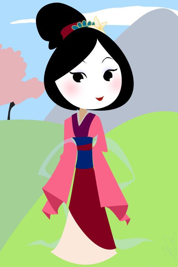 irreplaceable flower - Mulan