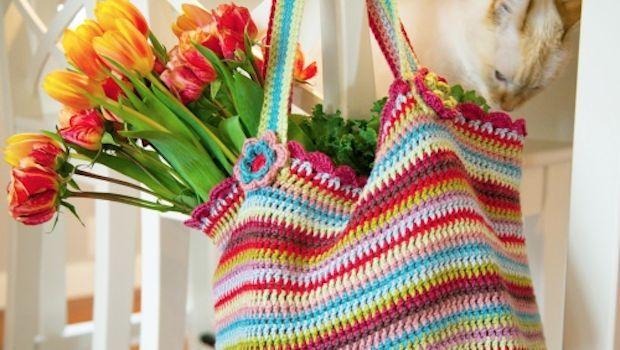 I 5 modelli di borse al'uncinetto in lana o cotone    36
