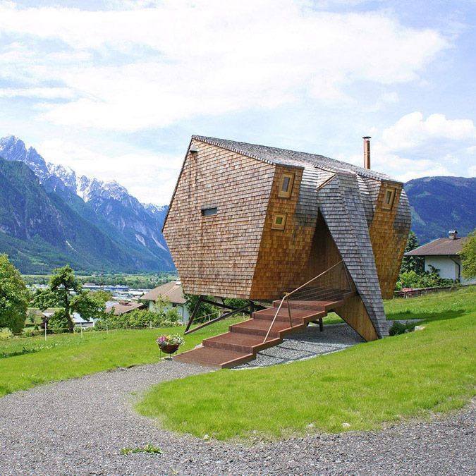 To say that the Ufogel is a unique take on a tiny house design might be an understatement