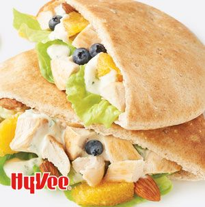 Citrus  chicken Pita. Hy-Vee.com offers over 7,000 recipes and weekly menu planning.