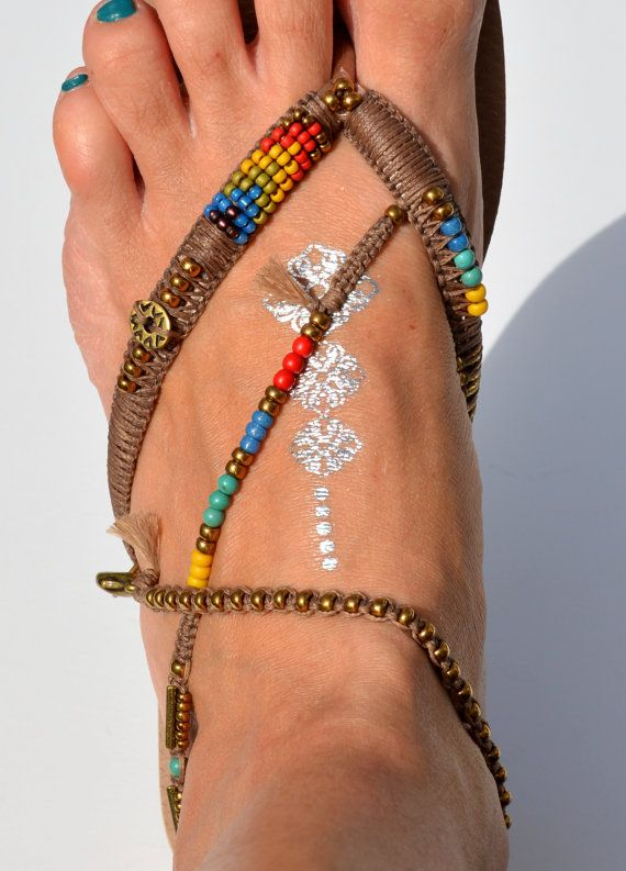Bohemian Sandals Foot Jewelry Women Flip Flops Women Shoes