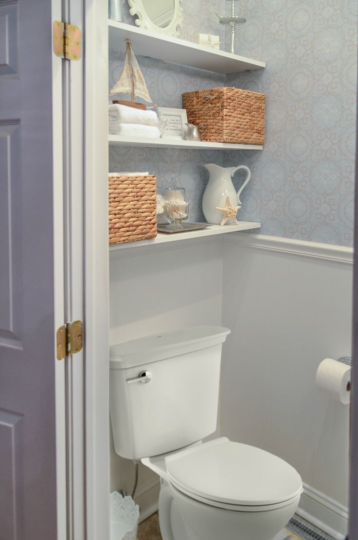 """It can be really difficult to add personal style touches to your bathroom when it's not quite as large as you would like. I've always lived in a smaller house, and while I love the coziness and the """"family togetherness""""… Continue Reading →"""